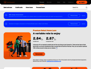 bankwest.com.au screenshot