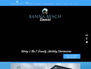 bannabeachhotel.net screenshot