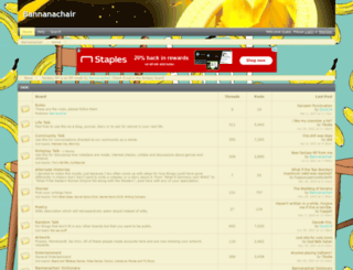 bannanachair.proboards.com screenshot