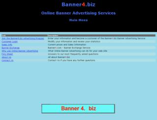 banner4.biz screenshot