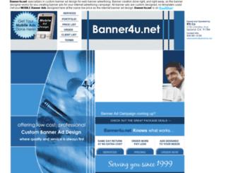 banner4u.net screenshot