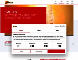 bannerbatterien.com screenshot