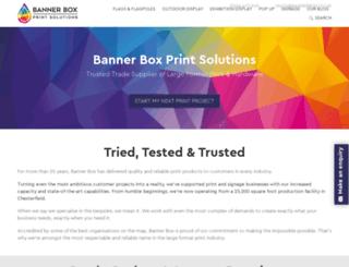 bannerbox.co.uk screenshot