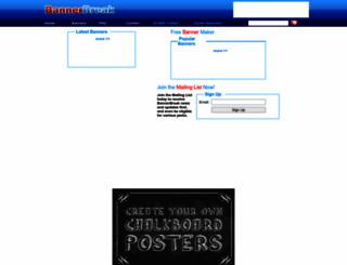 bannerbreak.com screenshot