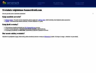 bannerdroid.com screenshot