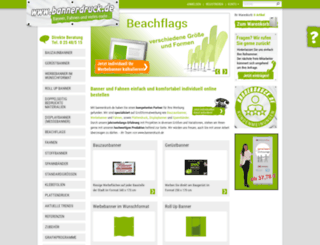bannerdruck2006.de screenshot