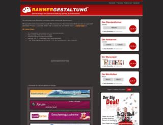 bannergestaltung.com screenshot