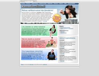 bannerinvaihto.fi screenshot