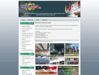 bannerscapes.com screenshot