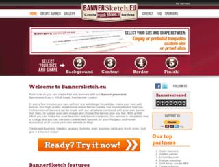 bannersketch.eu screenshot
