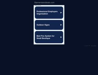 bannerstanddeals.com screenshot