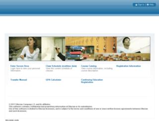 bannerweb.alfredstate.edu screenshot