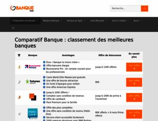 banque-info.com screenshot
