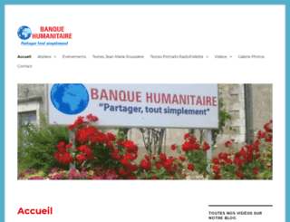 banquehumanitaire.fr screenshot