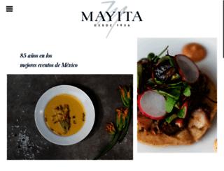 banquetesmayita.com.mx screenshot