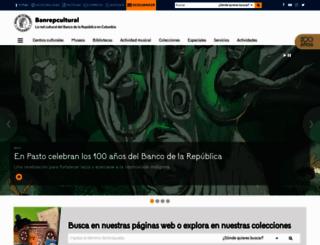 banrepcultural.org screenshot