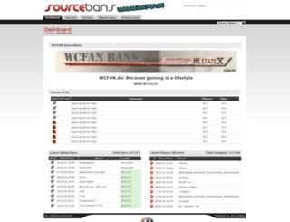 bans.wcfan.de screenshot