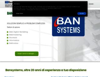 bansystems.it screenshot