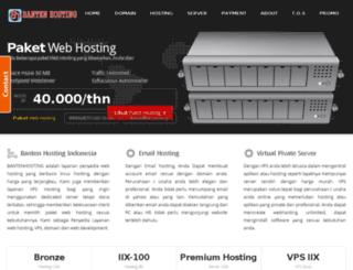 bantenhosting.net screenshot