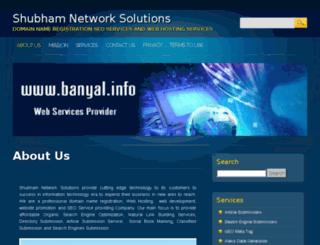 banyal.info screenshot