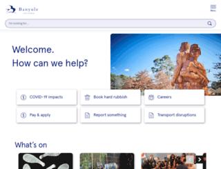 banyule.vic.gov.au screenshot