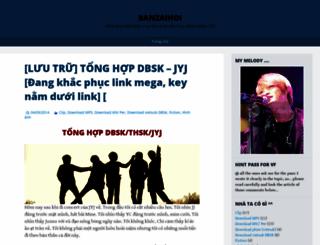 banzaihoi.wordpress.com screenshot