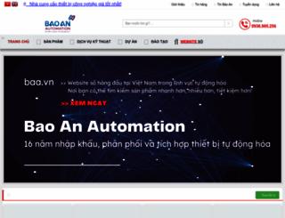 baoanjsc.com.vn screenshot
