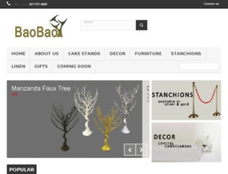 baobaowholesale.co.za screenshot