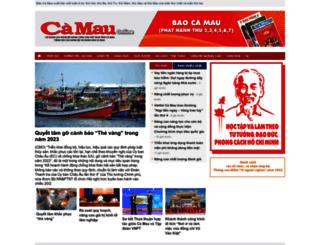 baocamau.com.vn screenshot