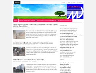baocaomoitruongminhviet.blogspot.com screenshot