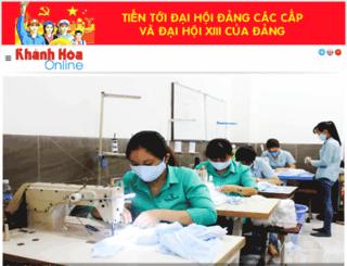 baokhanhhoa.com.vn screenshot