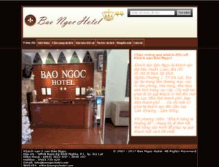 baongochotel.com screenshot