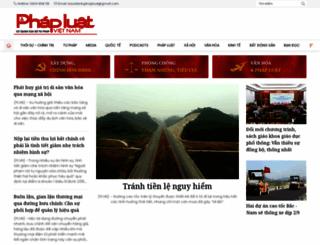 baophapluat.vn screenshot