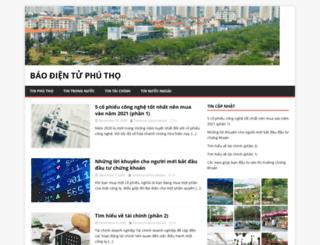 baophutho.org.vn screenshot