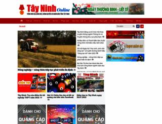 baotayninh.vn screenshot