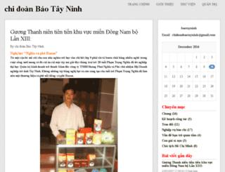 baotayninh.vnweblogs.com screenshot