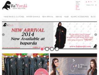 baparda.com screenshot