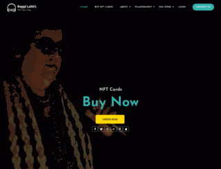 bappilahiri.com screenshot