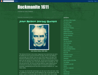 baptist1611.com screenshot