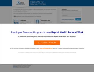 baptisthealth.corporateperks.com screenshot