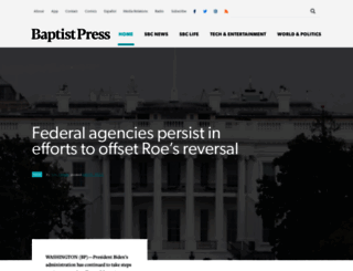 baptistpress.com screenshot