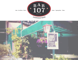 bar107.com screenshot