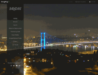 baradani.smugmug.com screenshot