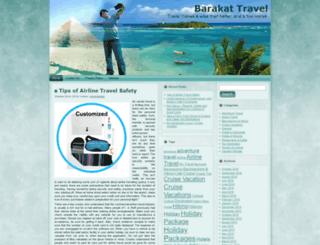 barakat-travel.com screenshot