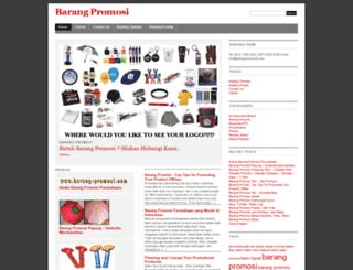 barang-promosi.com screenshot