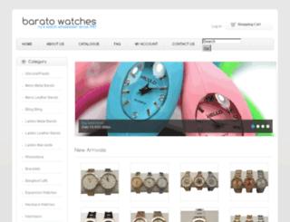 baratowatches.com screenshot