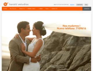 barattiestudios.com screenshot