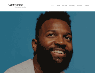 baratunde.com screenshot