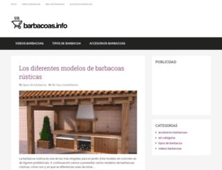 barbacoas.info screenshot