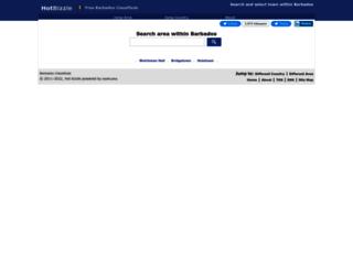 barbados.hotbizzle.com screenshot